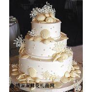 婚礼蛋糕,永结同心