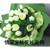 广州鲜花,情丝万缕