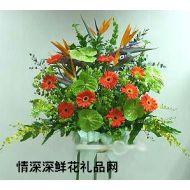 商务鲜花,恭喜发财