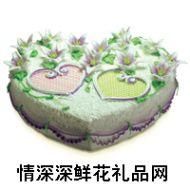 奶油蛋糕,【好利来】紫合倾情