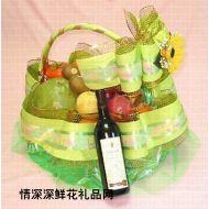 水果礼篮,水果花礼
