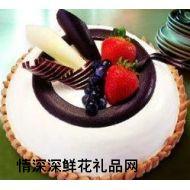 香港鲜花,奶油水果巧克力