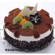 巧克力蛋糕,夏日�L情(元祖12寸)