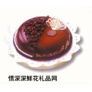 情人蛋糕,夜色温柔(8寸)