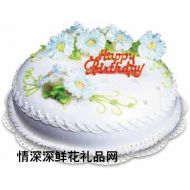 艺术蛋糕,生日快乐