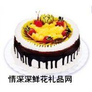 鲜奶蛋糕,水果之恋
