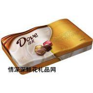 德芙巧克力,德芙牛奶和黑巧克力精巧装礼盒