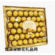 费列巧克力,费列罗巧克力42粒装