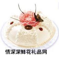 鲜奶蛋糕,蝶恋花景