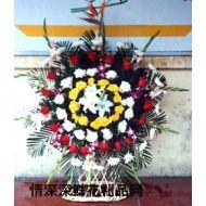 清明节鲜花,悼念花篮2