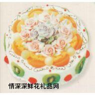 国庆节鲜花,心花朵朵(10寸)