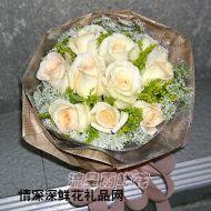 上海鲜花,雪过无痕