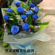 蓝色妖姬,蓝色之恋