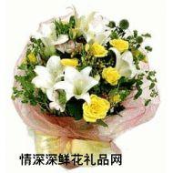 祝福鲜花,情真意切