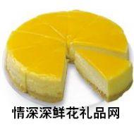 奶油蛋糕,香橙奶酪