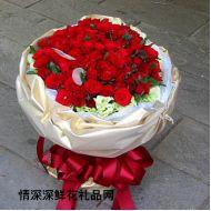 台湾鲜花,火热的心