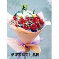 元旦鲜花,透明心情