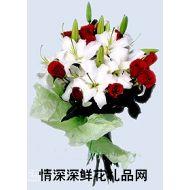 北京鲜花,水精灵