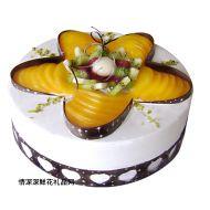水果蛋糕,开心之恋(仅限送海南)