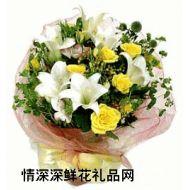 礼盒花束,阳光
