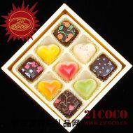 精美巧克力,21COCO巧克力 美因河畔 比利时手工巧克力
