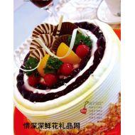 巧克力蛋糕,深情意�L