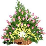 元宵节鲜花,快乐新年