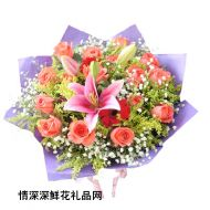 七夕节鲜花,永远相连