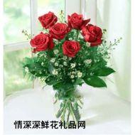 武汉鲜花,永恒的心