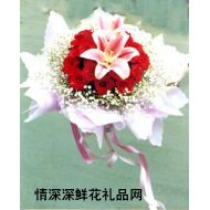 元旦鲜花,同心久久