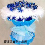蓝色妖姬,蓝色柔情