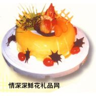 情人蛋糕,浓情密意