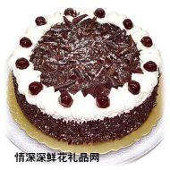 巧克力蛋糕,团团圆圆