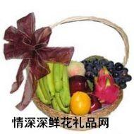 水果礼篮,共享天伦