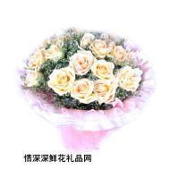 福州鲜花,香槟情怀