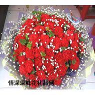 母亲节鲜花,美丽红似火