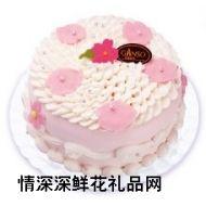 鲜奶蛋糕,缤纷樱花