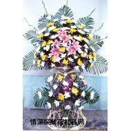 清明节鲜花,葬礼花篮1