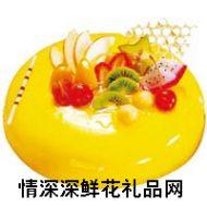 水果蛋糕,【好利来】薄荷迷情