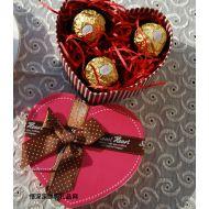 费列巧克力,圣诞礼物 费列罗粉色心形精美礼盒装