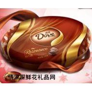 德芙巧克力,生日礼物 德芙巧克力高贵礼盒348克 新品上市