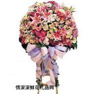 商务鲜花,立体花束