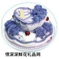 情人蛋糕,爱你的心^