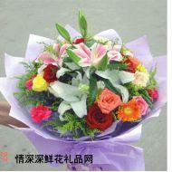 元旦鲜花,感谢你用心爱我