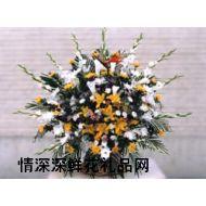 清明节鲜花,葬礼花篮6