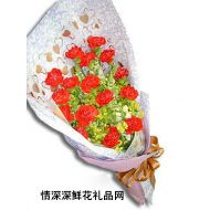 亲情鲜花,幸福如蜜