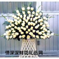 清明节鲜花,悼念花篮8
