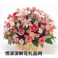 生日�r花,福如�|海