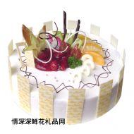水果蛋糕,美味乐园