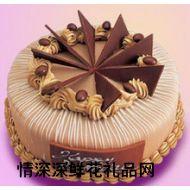 巧克力蛋糕,典雅风情(汇力发品牌)